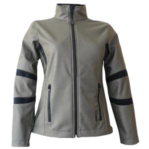 Bluza damska oliwkowa typu softshell kolekcja OUTDOOR - ATG
