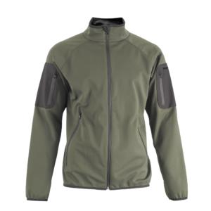 Bluza męska zielona typu softshell kolekcja OUTDOOR - ATG